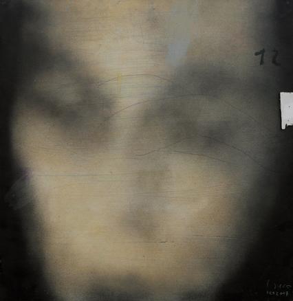El cuadro de Isa. Técnica mixta sobre hierro, 78 x 75 cm, 2007