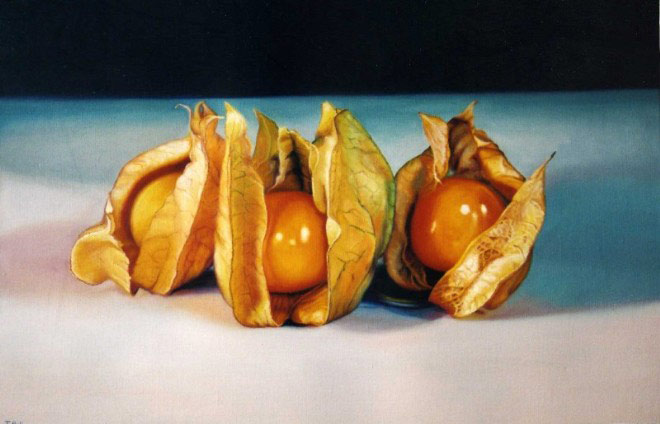 Three Physillis, 80x120 cm., oil on canvas