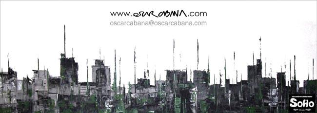 horizonte construido | Ir a la ficha del Artista 'Óscar Cabana Picado'