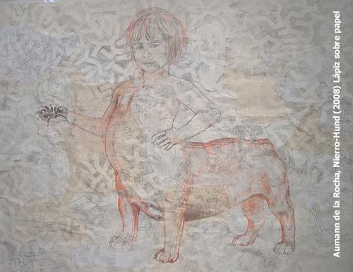 Nierro Kund, Lapiz sobre papel | Ir a la ficha del Artista 'Marta de la Rocha'
