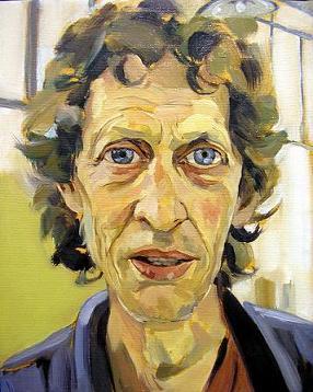 Retrato del pintor Yigal Noach