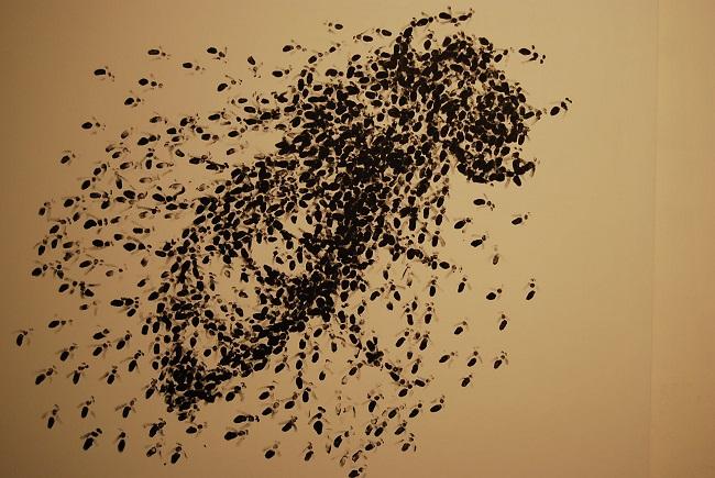 Barehanded, Acrílico sobre tela, 150x180cm
