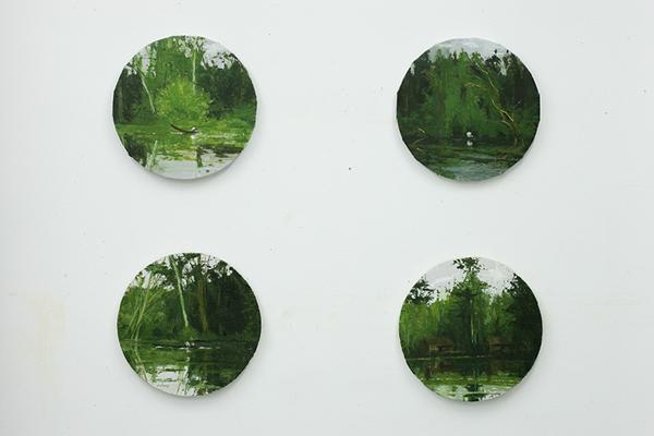Colección  selvas 40cn diametro