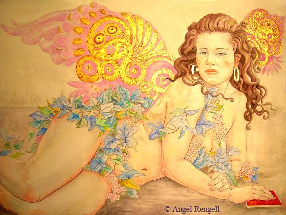 Lara Portrait - Angel Rengell