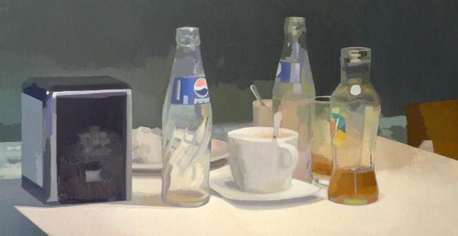 Botellas | Ir a la ficha del Artista 'Francisco Javier Ortega López'