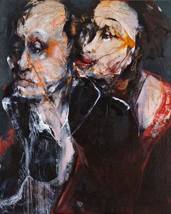 Amor Pagado 250 x 200 cm 2009 | Ir a la ficha del Artista 'Lita Cabellut'
