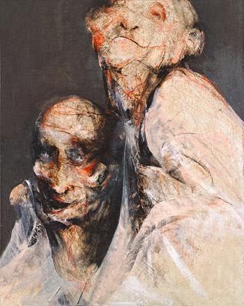 Happy Few 250 x 200 cm 2010 | Ir a la ficha del Artista 'Lita Cabellut'