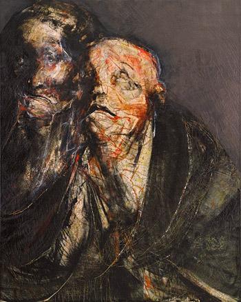 Los Santos Inocentes 250 x 200 cm 2010 | Ir a la ficha del Artista 'Lita Cabellut'