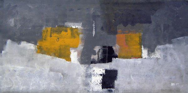 Andoni garc a ba egil artista arteinformado - Acrilico sobre lienzo ...
