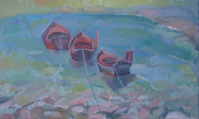 Barcas rojas
