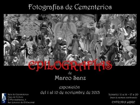 Exposición Epilografías noviembre 2013