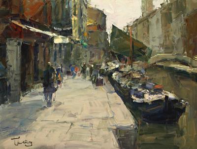 Venecia-oleo-50x61