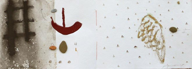 Barca e Ikaro. 28 x 76 cm. Il libro dell acqua.
