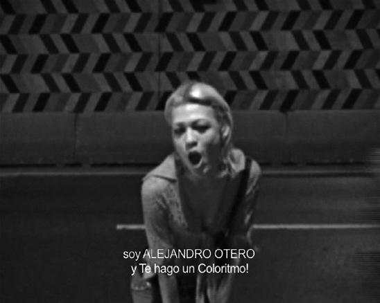Avenida Libertador. Video. 2006. | Ir a la ficha del Artista 'Alexander Apóstol'