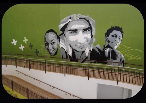Proyecto CNFSN Decoración estación de guaguas de Pto del Rosario Fuerteventura