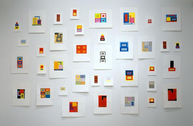 Drawings, 2006. Vista de instalación, Galería Javier López