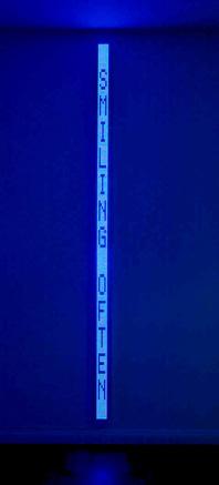 Erlauf, 1995 - 2002. Señal electrónica en caja de acero inoxidable. Ed. 2/5