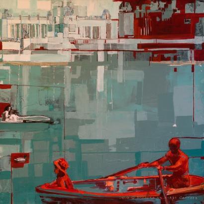 Roberto valent n carrera artista arteinformado - Acrilico sobre lienzo ...