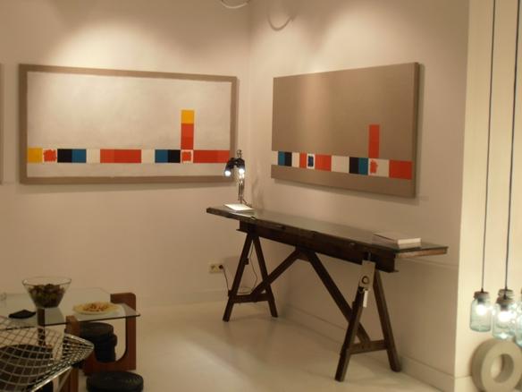 antes de la intemperie, 2011. Öleo sobre lino. 90x180cm. | Ir a la ficha del Artista 'Abigail Aguirre Araújo'