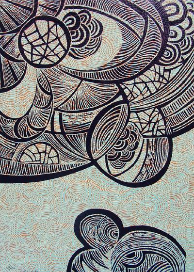 xilografía | Ir a la ficha del Artista 'Alicia Gallego'