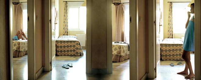 Las habitaciones de Alicia - Alice´s rooms - 200 x 80 cm