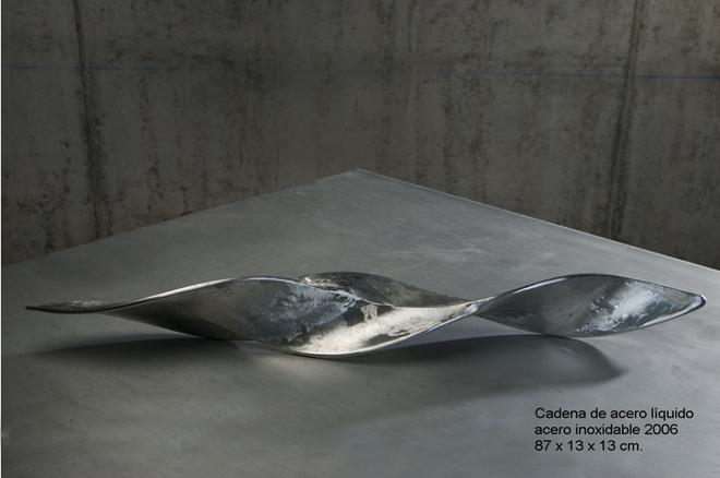 Cadena de acero líquido