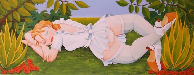 La novia dormida