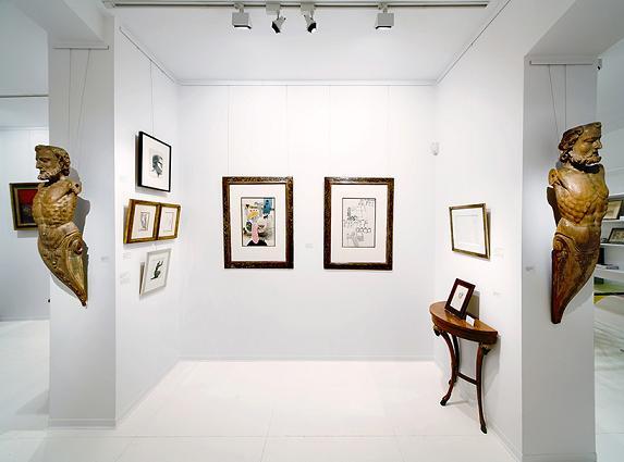Interior de la galería | Ir a la ficha de 'Colección Valzuela'. Organización con colección