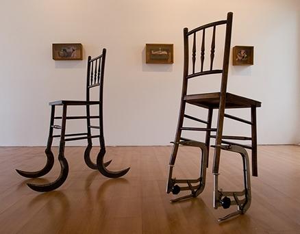 Nino Cais 2007-2012 Cadeira Foice e Cadeira Prótese