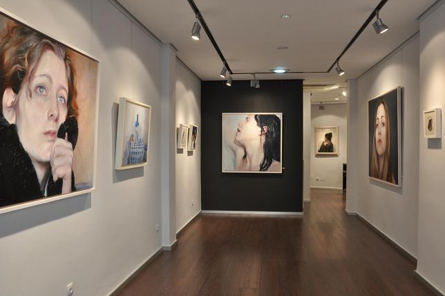 Exposición Llegado el momento de Eugenio Ocaña, mayo 2013.