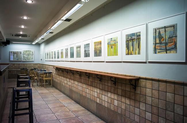 Colectiva pintores de Beart | Ir a la ficha de 'Cafe Nahikari Bergara'. Otras organizaciones de arte