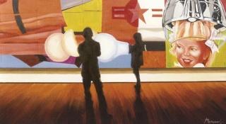 Bernabé Fernández, Contemplación I | Ir a la ficha de 'Sala de Arte  Murillo'. Galería de arte