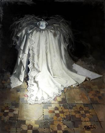 R.Catala-Azucarero-Oleo sobre lienzo.92x73 cm. | Ir a la ficha de 'Omnium Ars'. Galería de arte