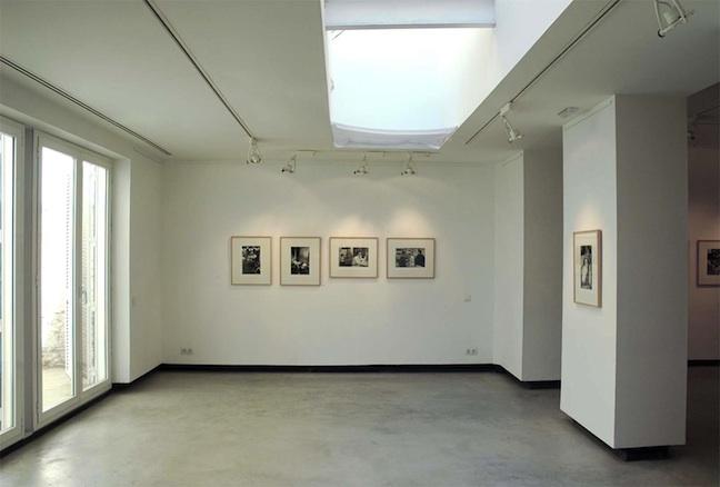Sala claraboya Galería Hartmann