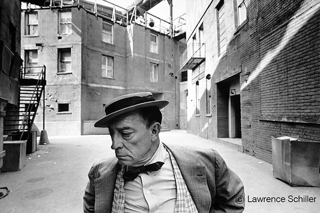 Buster Keaton the last Shot, Lawrence Schiller