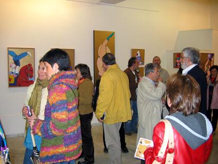 INAUGURACION DE EXPOSICION | Ir a la ficha de 'Lorenzo Colomo'. Galería de arte