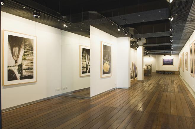 Exposición COLOR. Ramón Mastas. Inauguración Galería.