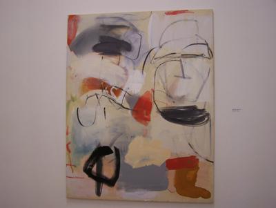 Qui, Oleo y acrilico sobre tela 146 x114 cm