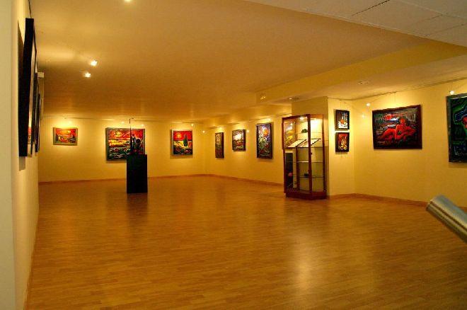 La Sala de Exposiciones.