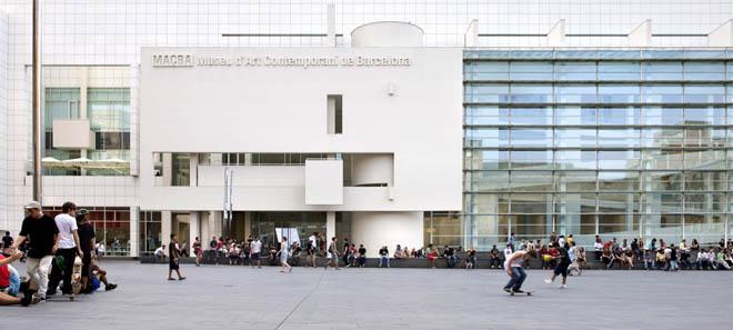 Museu dArt Contemporani de Barcelona MACBA. Foto Rafael Vargas