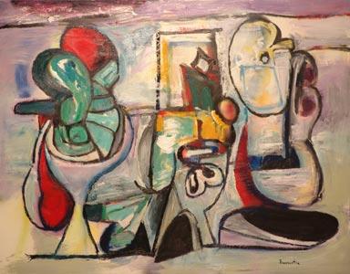 Óleo sobre lienzo, 2007, 146 x 114 cm.