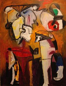 Óleo sobre lienzo, 2007, 116 x 89 cm.
