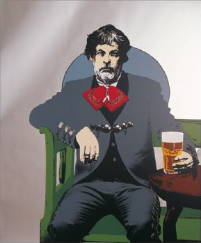 A glass of beer, 2005