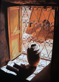 Vasija y ventana