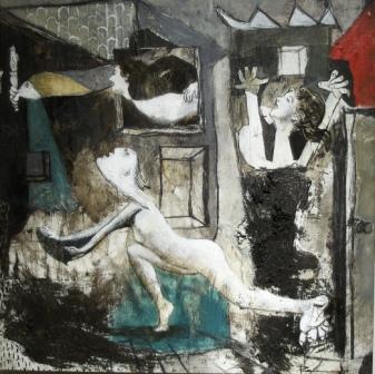 Guernica cuadrado III