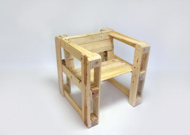 Ejemplos de muebles con palets - Muebles hechos con palets de madera ...