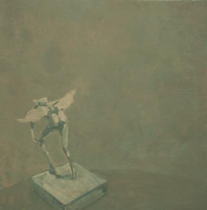 Steve Afif, Yeso III, 80 x 80 cm, 2008