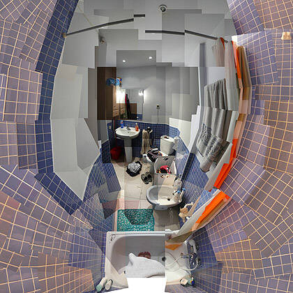 Ana Abascal Vila, Berlin 80, 8 de baño II, 2008
