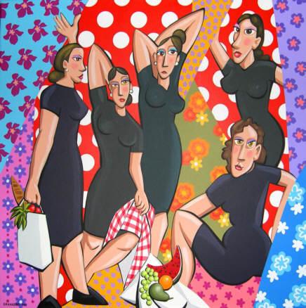 Resultado de imagen para las mujeres pintura