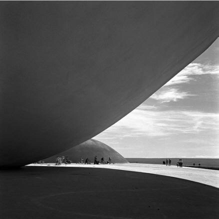 Oscar Niemeyer, Congresso Nacional, Brasíli, DF, c. 1962